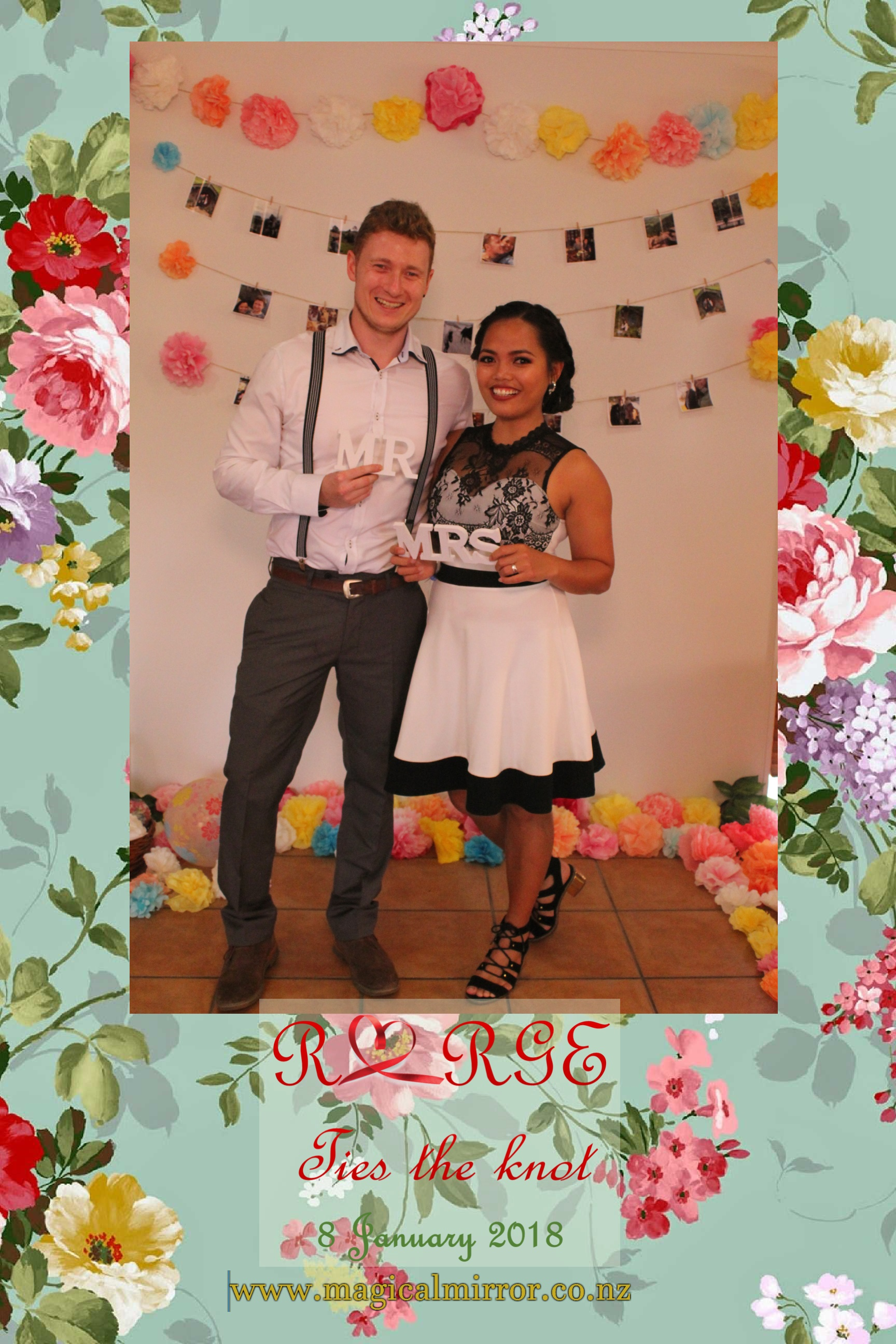 Rodelyn & George Tied the knot, Auckland wedding
